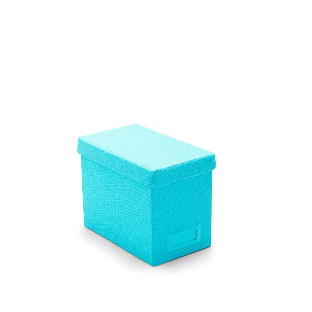 Aqua Medium File Box Organization With Images File Box