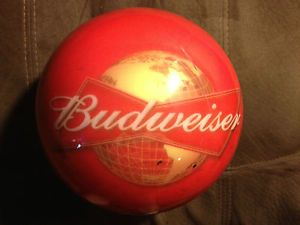 f8578838 Details about Bud King of Beers Plastic Bowling Ball - 15.5 Pounds ...