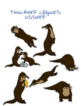 otter clipart pinterest otters teaching ideas and teacher pay rh pinterest ca otter clipart otter clipart free