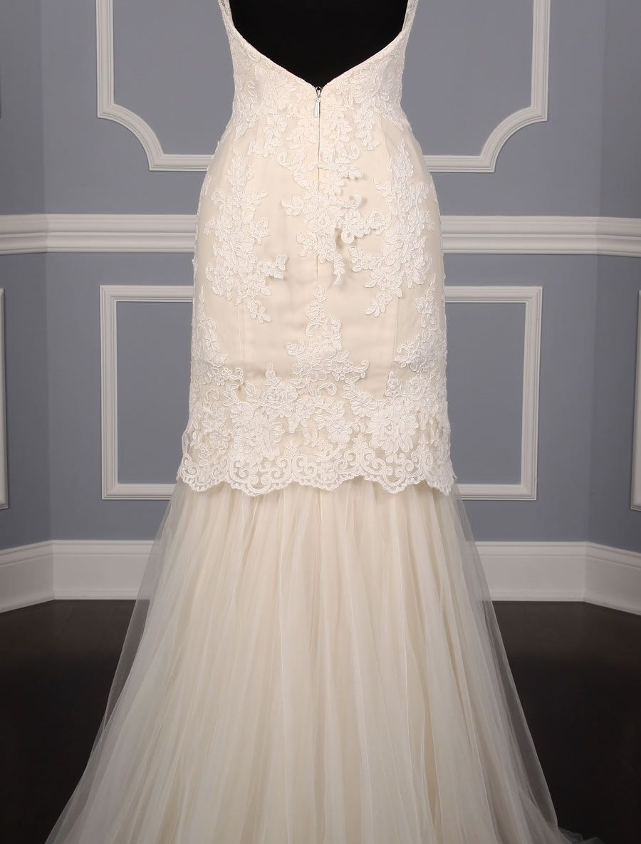 Anne barge cameo wedding dress blue willow bride discounted anne