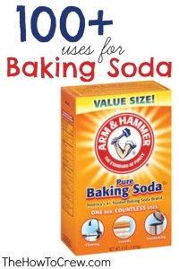 How-To Use Baking Soda {100+ Uses} | Family, Food, Fun.