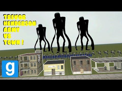 236 Trevor Henderson Army Destroys Town Garry S Mod Sandbox Youtube Trevor Army Destroyed
