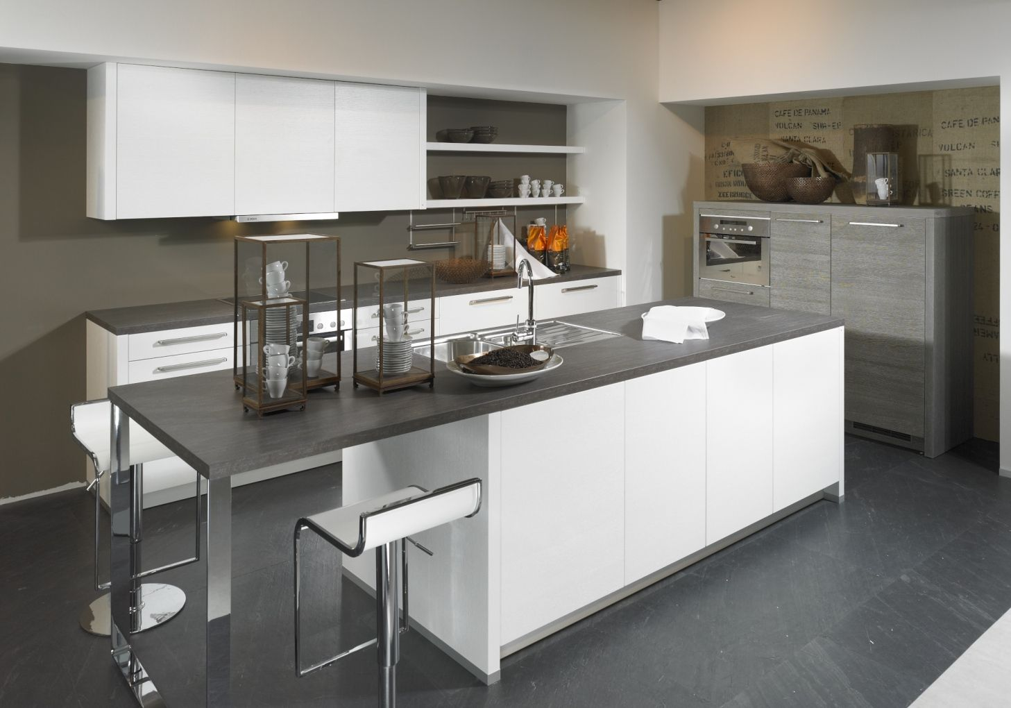 Alnowood kitchen pinterest the grey the o 39 jays and grey for Alno kitchen cabinets
