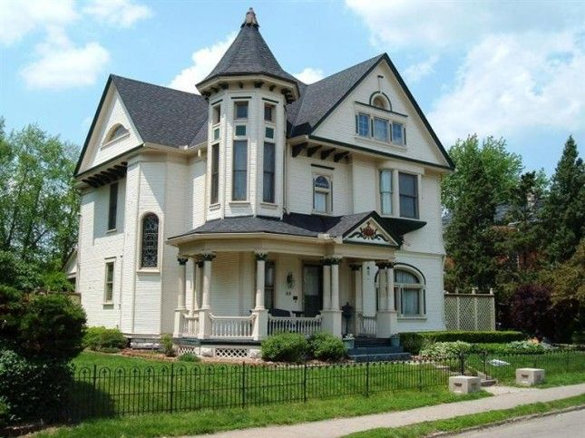 1895 Queen Anne Dayton Ohio 129 900 Victorian Homes Queen Anne House Old House Dreams