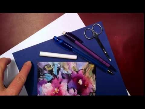 Project - See-Through Letters - Dancing Pen Calligraphy