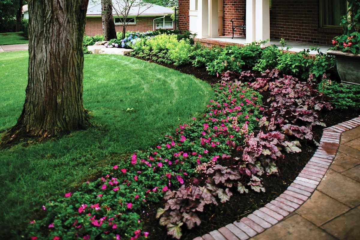 Small North Facing Front Garden Design Best Images About ...
