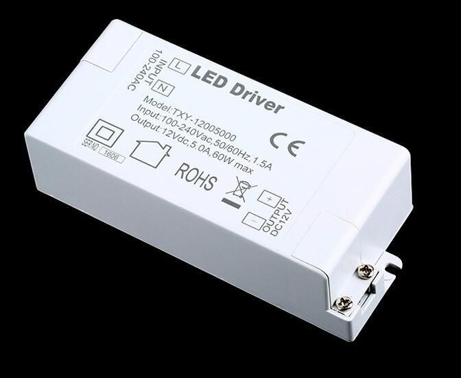 Visit To Buy 100v 240v To 12v 5a 60w Led Driver Ac Dc Adapter Power Supply 60 Watt Lighting Transformer For Le Led Power Supply Led Drivers Light Accessories