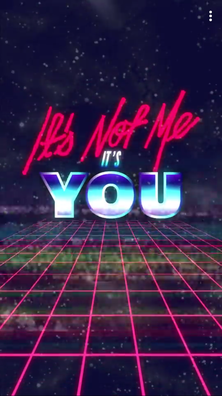 Pin by Brittany Buck on Snapchat Profile wallpaper, Neon