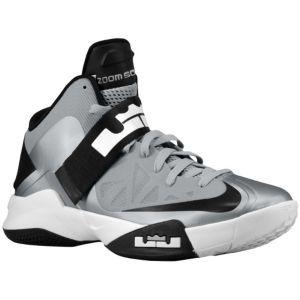 get cheap f66b6 e4506 Nike Zoom Soldier VI - Men s - Basketball - Shoes - Wolf Grey White Black