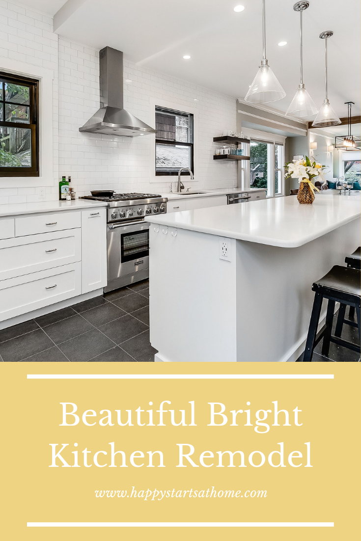 This Kitchenremodel Went From A Crowded Closed Off Room To A