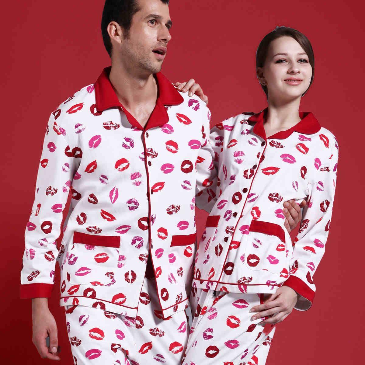 His And Hers Matching Christmas Pajamas: His And Hers Christmas Pajamas