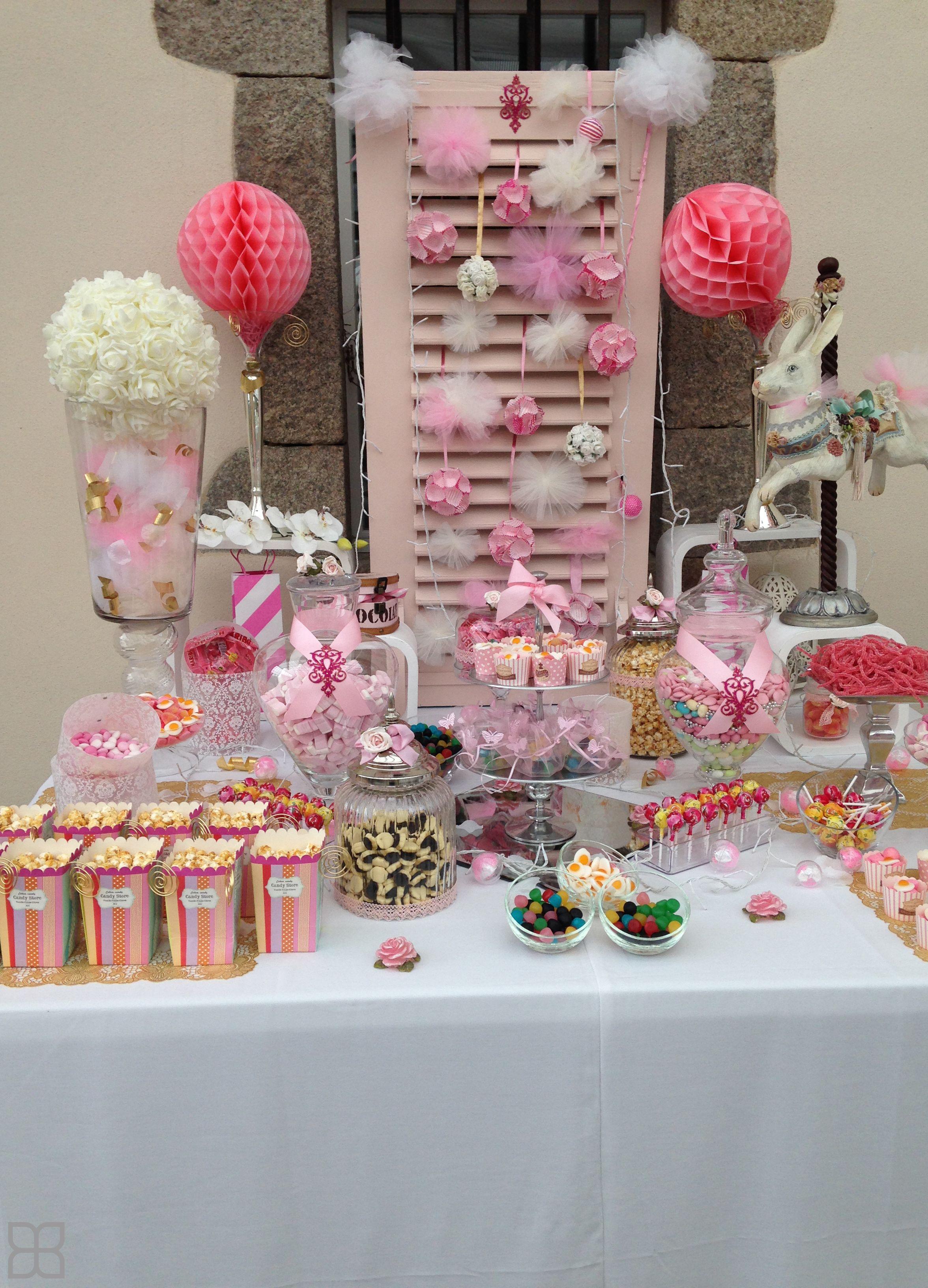 Candy Bar thème Fête foraine