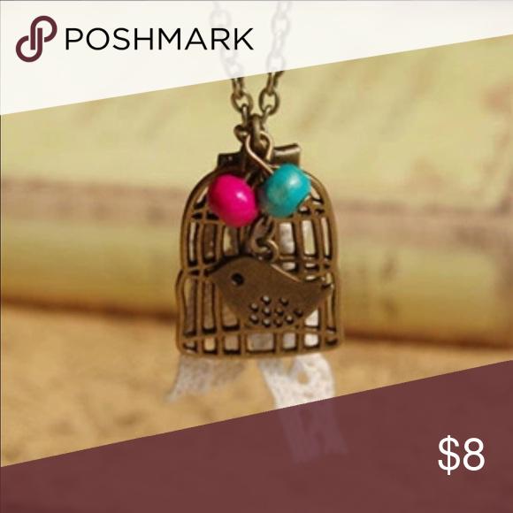 🆕Vintage bronze birdcage necklace 🆕Vintage bronze birdcage necklace Accessories Jewelry