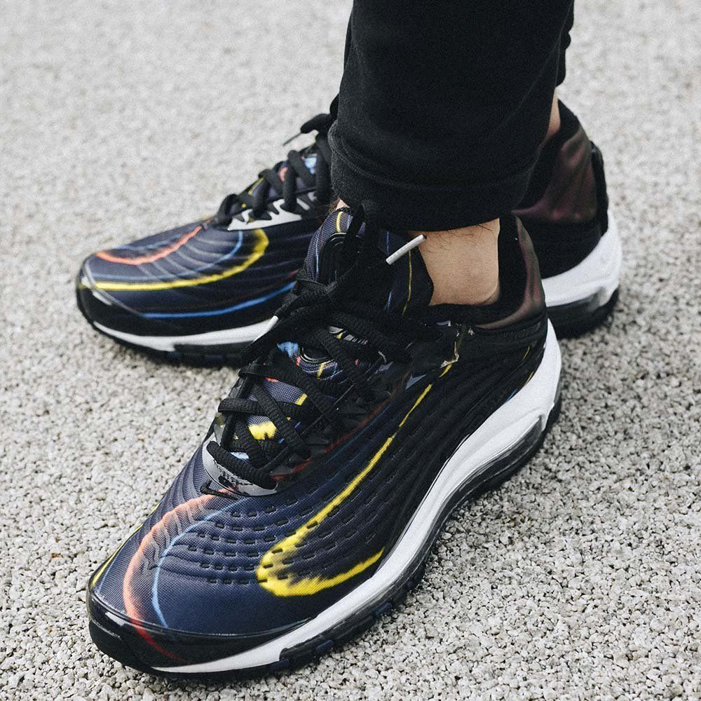 Nike Air Max Deluxe | BlackMidnight NavySilver | Womens