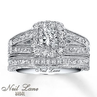 I Love That Alot Of The Neil Lane Bridal Rings Come As Sets