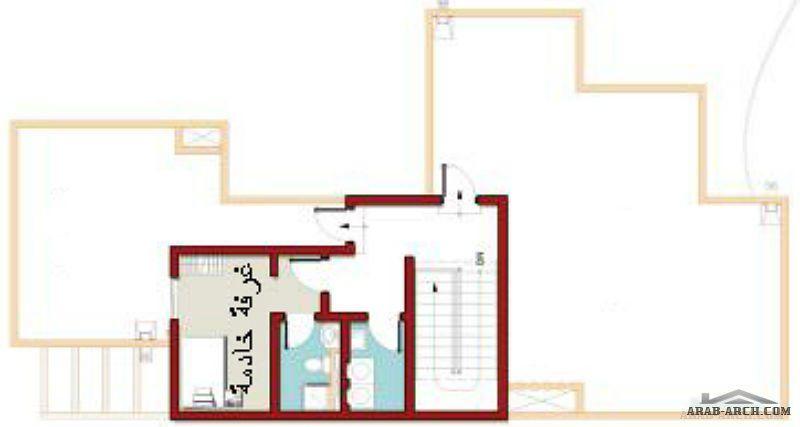 مشروع حي جلمودة تصميم بيوت الهيئة الملكية نموذج B3 Arab Arch House Plans Floor Plans House