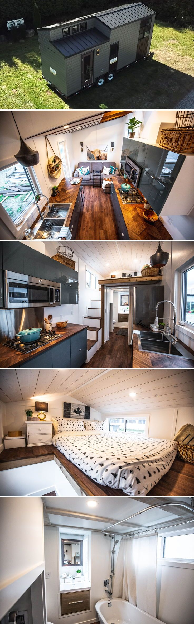 Coastal Escape by Sunshine Tiny Homes #tinyhome
