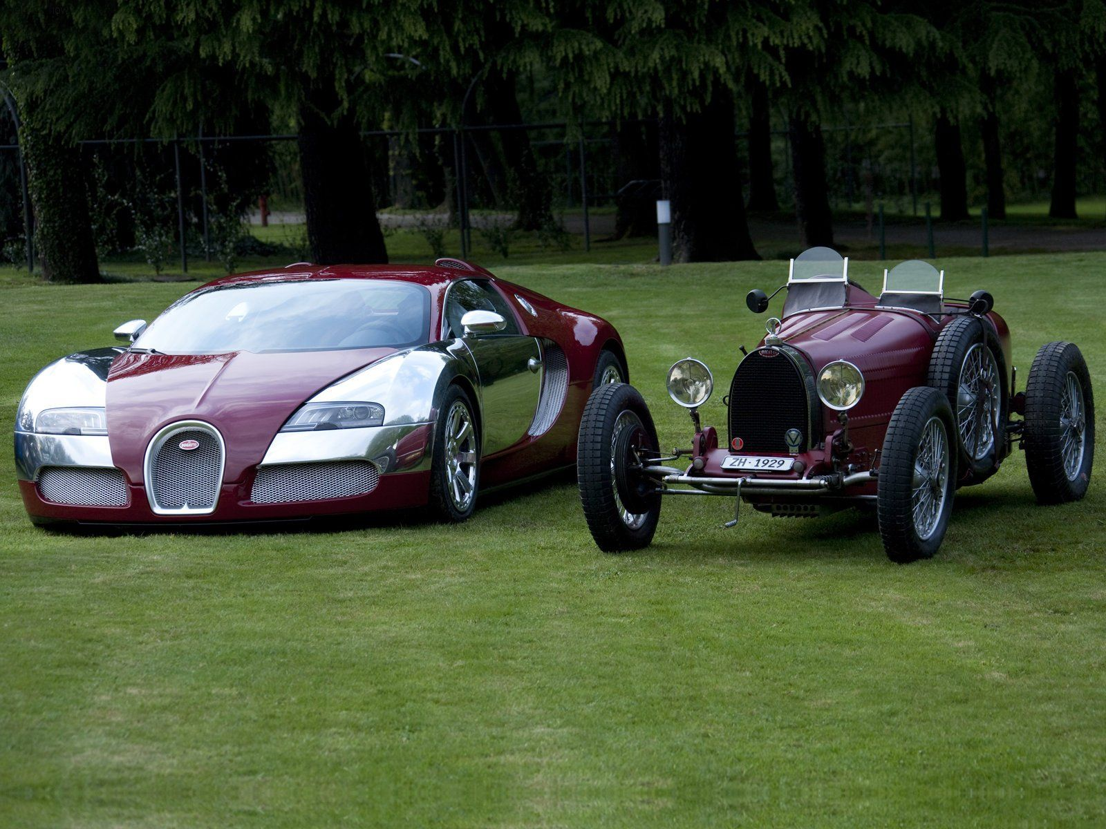 When was the first bugatti made