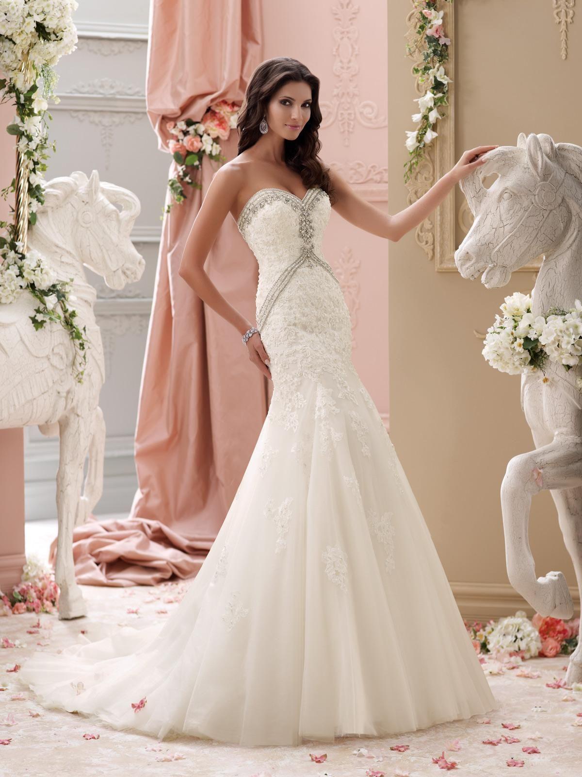 strapless-sweetheart-basque-wedding-dress | Alluring Basque Wedding ...