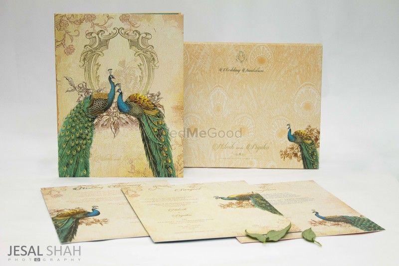 Peacock theme wedding invitation Wedding, Peacock theme and - best of invitation card about wedding