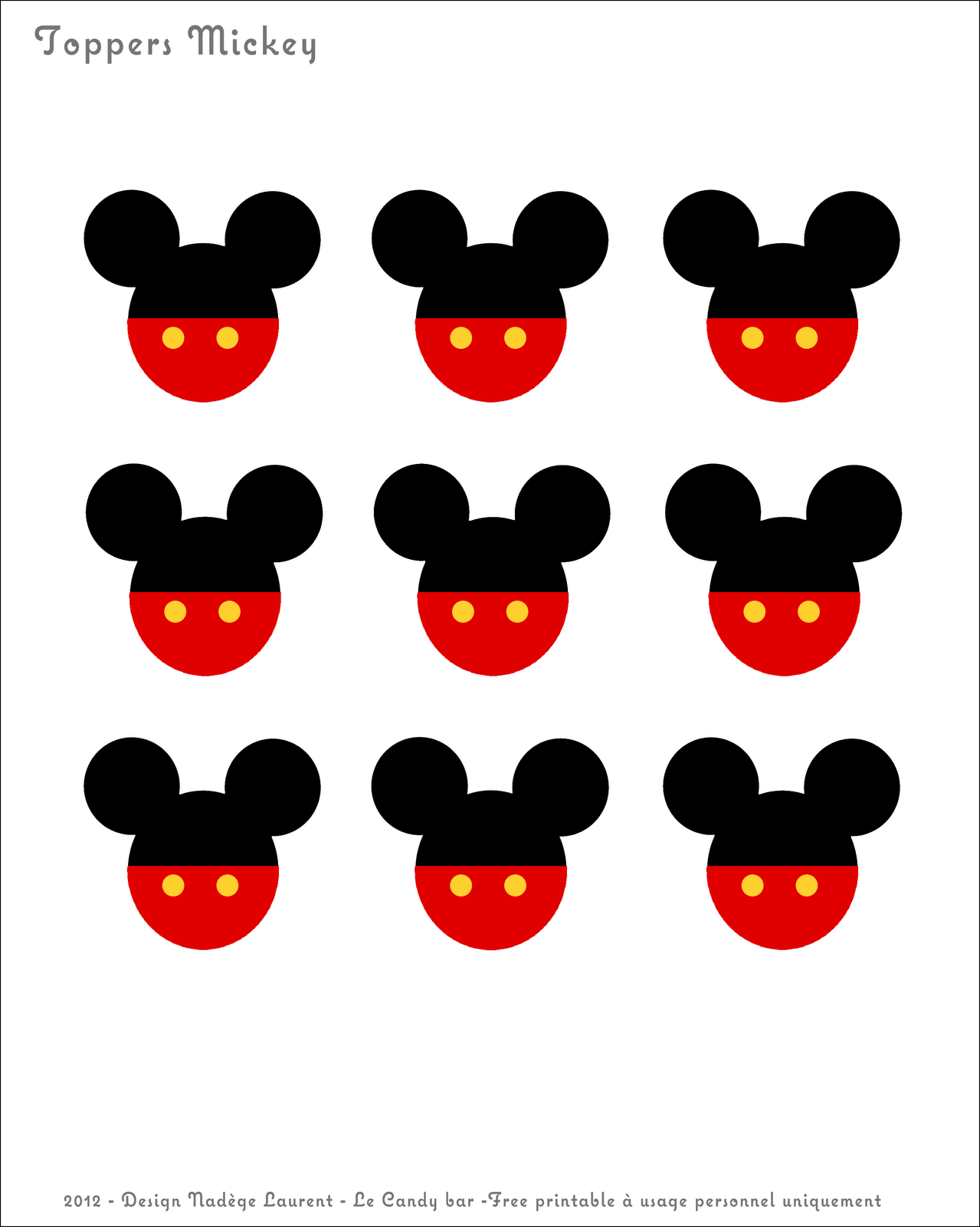 Free Printable Mickey Mouse Coloring Book Pages For Kids You Can ...