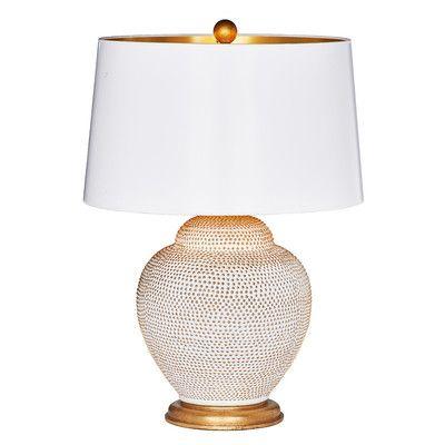 """TheBradburnGallery Frisco 26"""" Table Lamp Base Color:"""