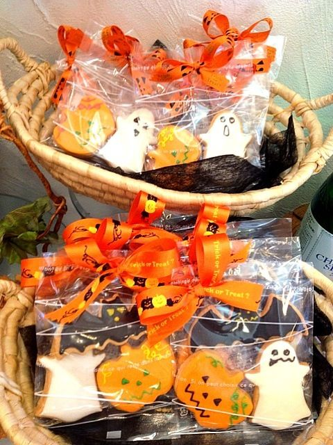Halloweenアイシングクッキー