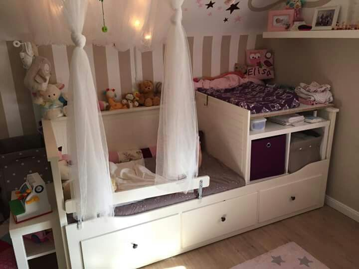 babybett wickeltisch basteln in 2019 pinterest baby room und ikea hack kids. Black Bedroom Furniture Sets. Home Design Ideas