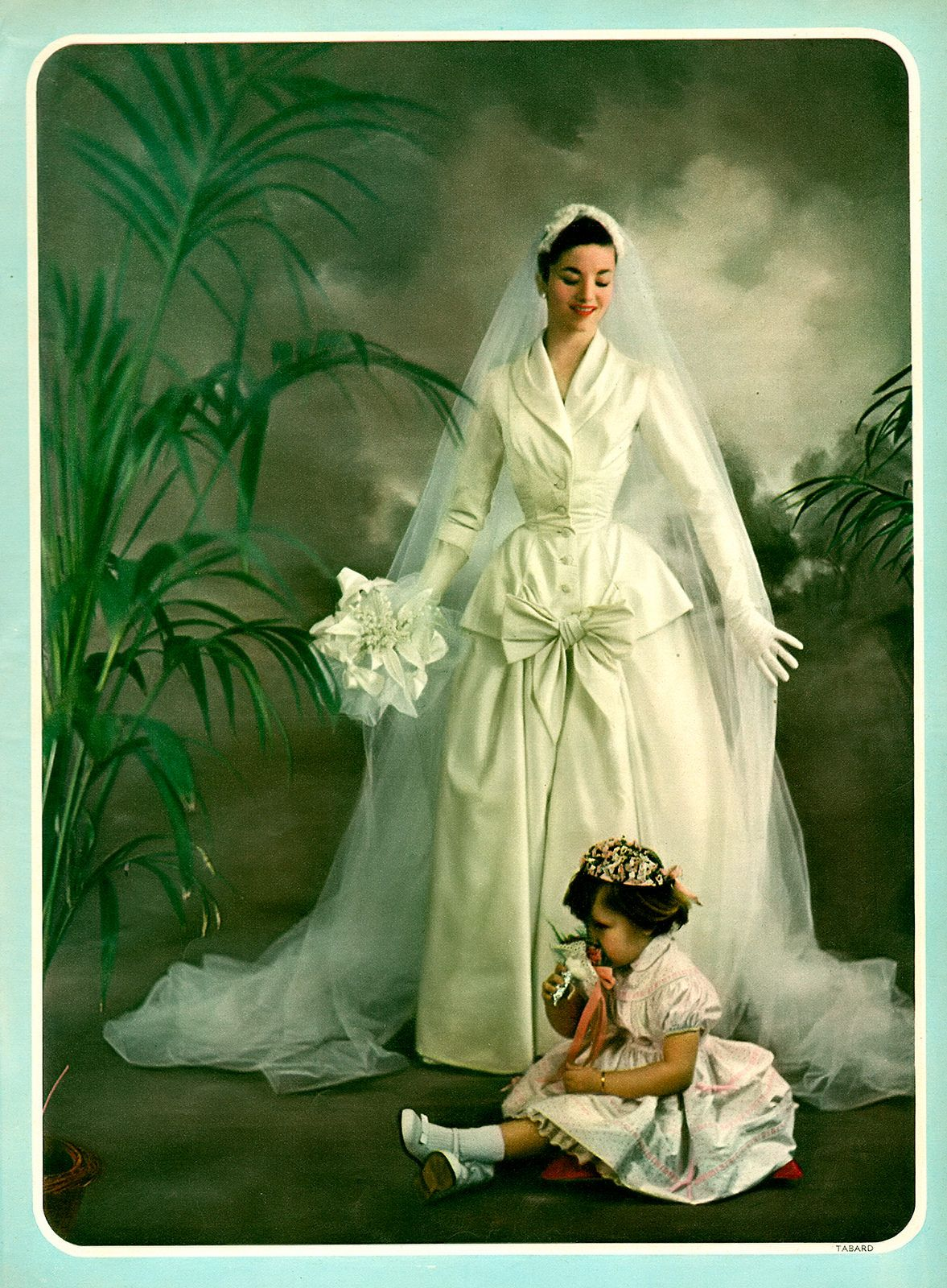 1950 wedding dress  Wedding Day   Weddings  Pinterest  Vintage weddings Weddings