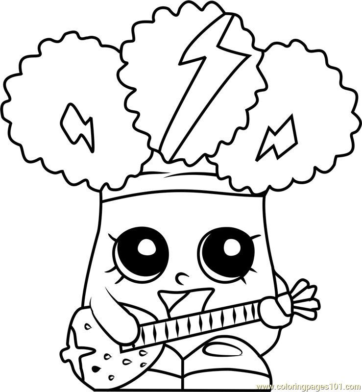 Rockin Broc Shopkins Season 1 Coloring Page Shopkins Colouring Pages Shopkins Coloring Pages Free Printable Coloring Pages