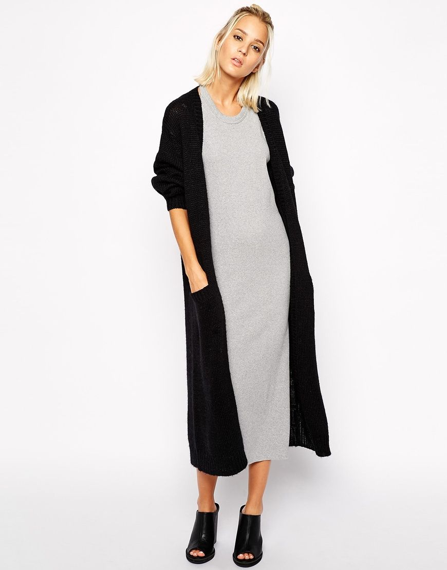 Cheap Monday Maxi Cardigan | outfit | Pinterest | Maxi cardigan ...