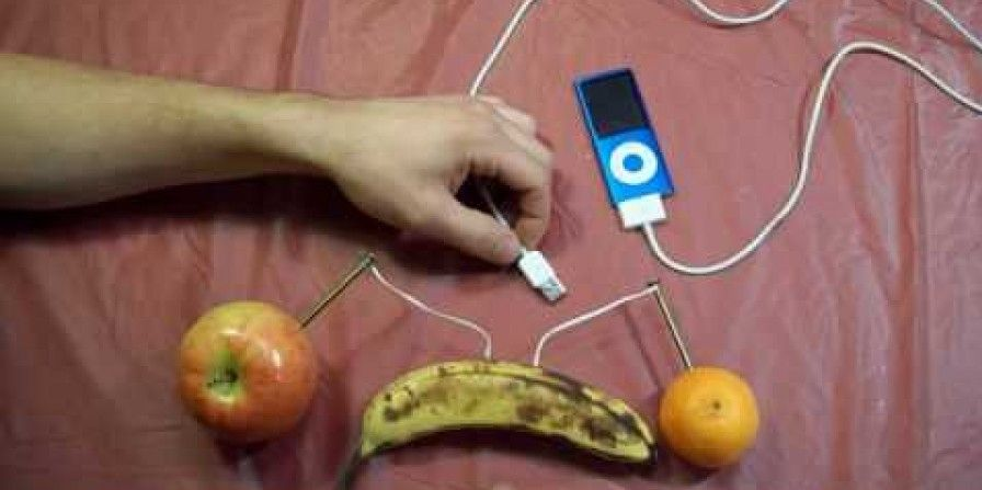 Did you know you can charge an apple ipod with apple the