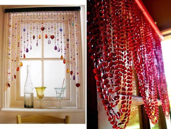 Beaded Window Treatments Google Search Curtain Alternatives Net Curtains Alternative Beaded Curtains