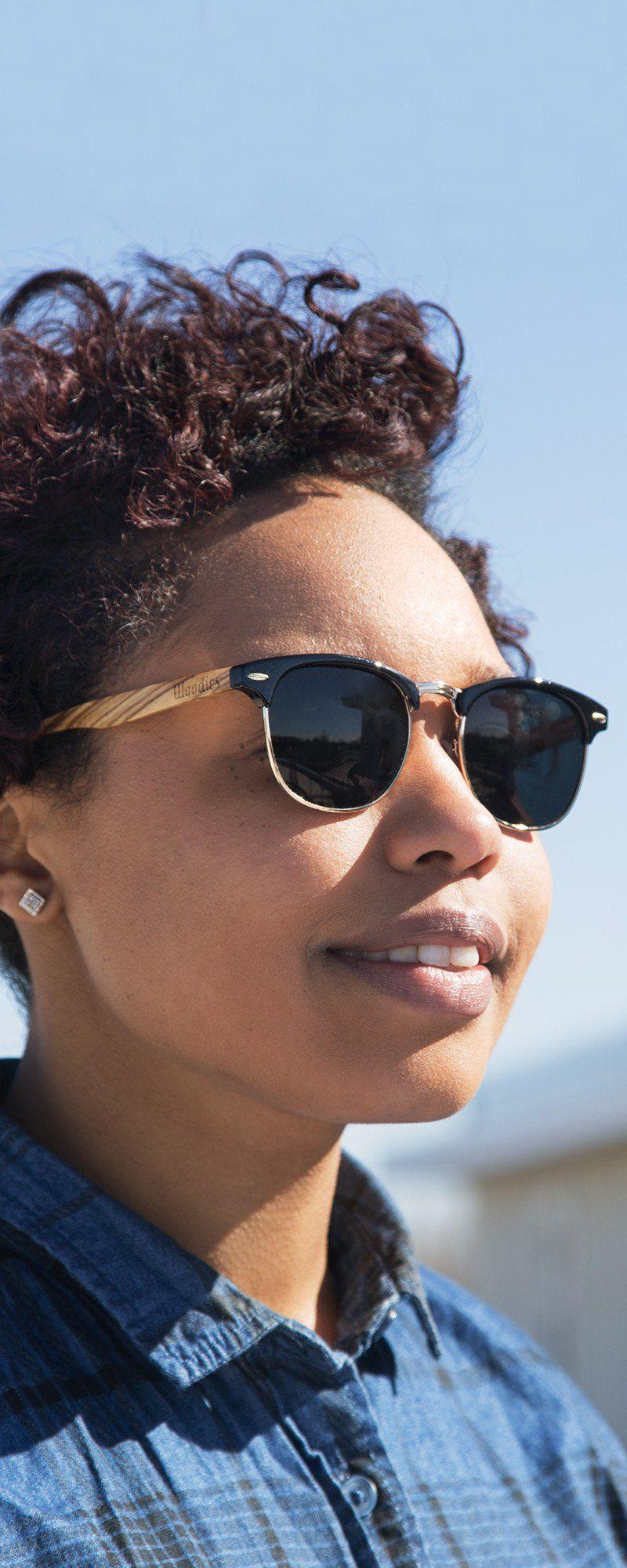 83652afadb Classic sunglasses frames with a natural twist