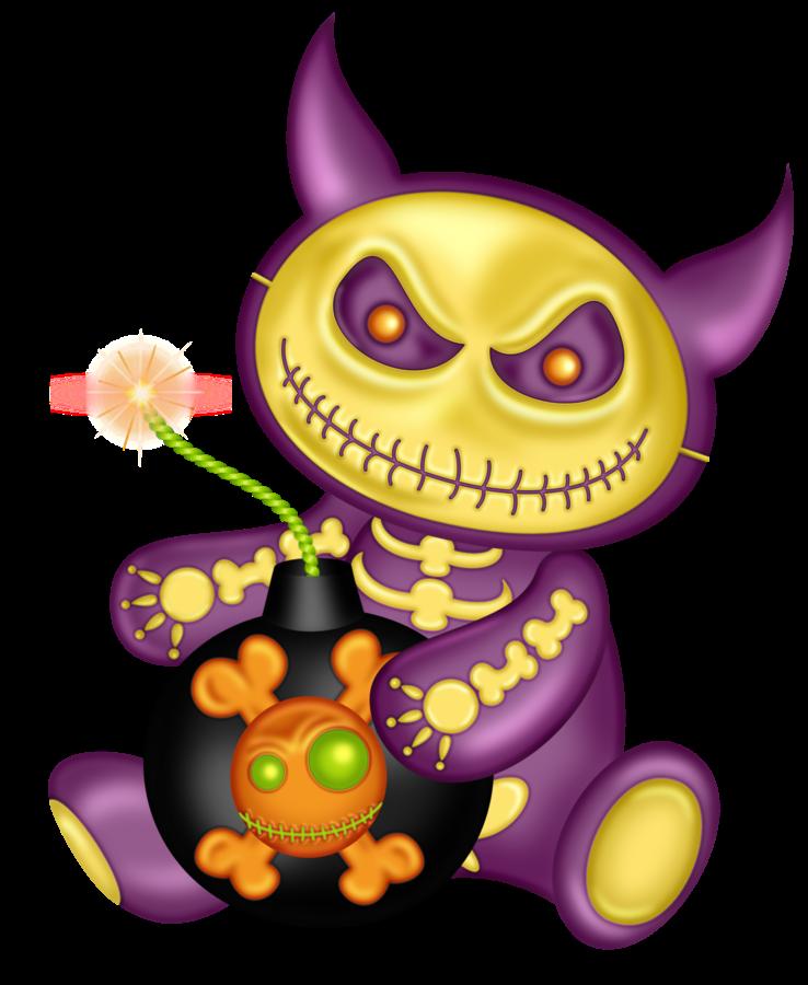 Картинки хэллоуин монстры