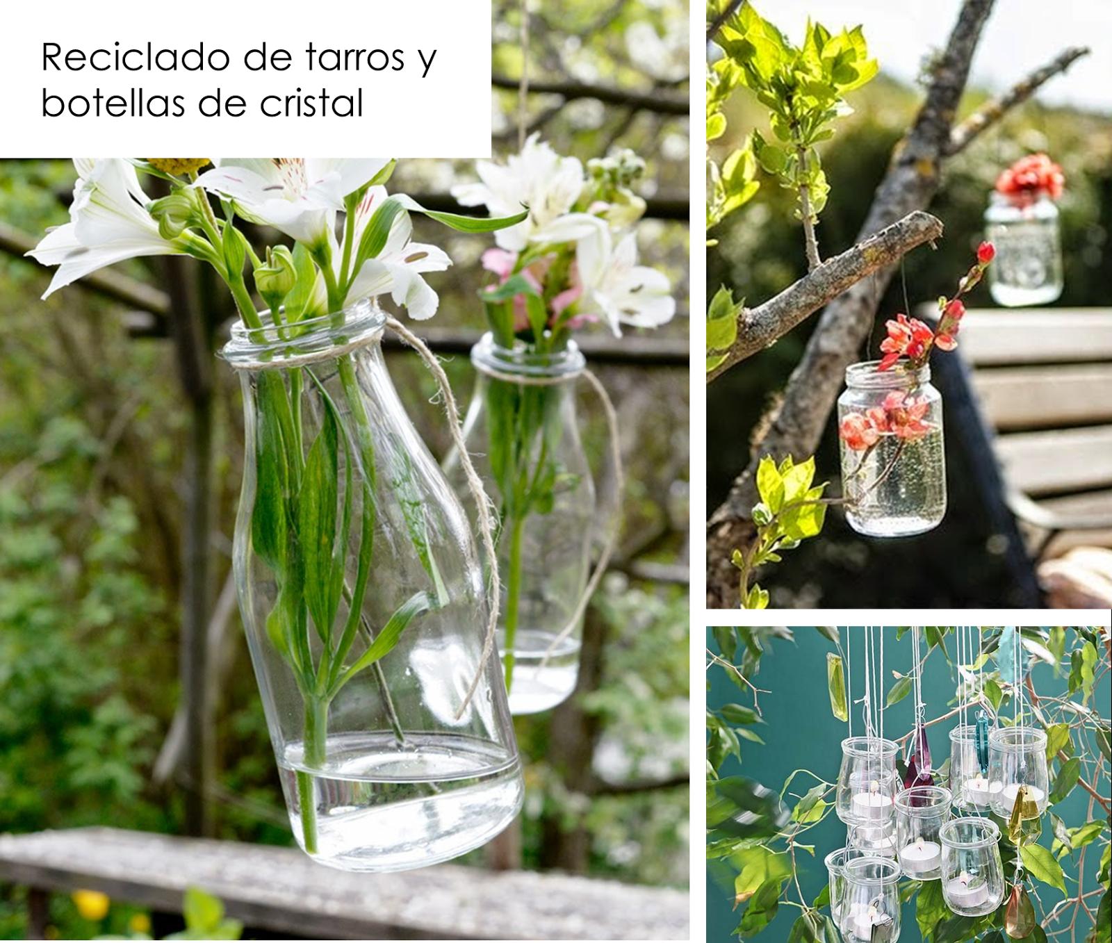 Decoracion facil ideas para decorar reciclando en el jard n y terraza plantas reusar - Decorar terrazas reciclando ...