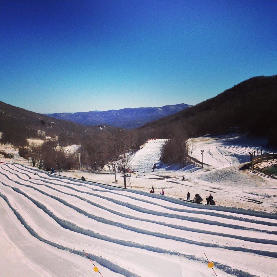 Photo of Hawksnest Tubing Park Is Full of Winter Adventure In North Carolina