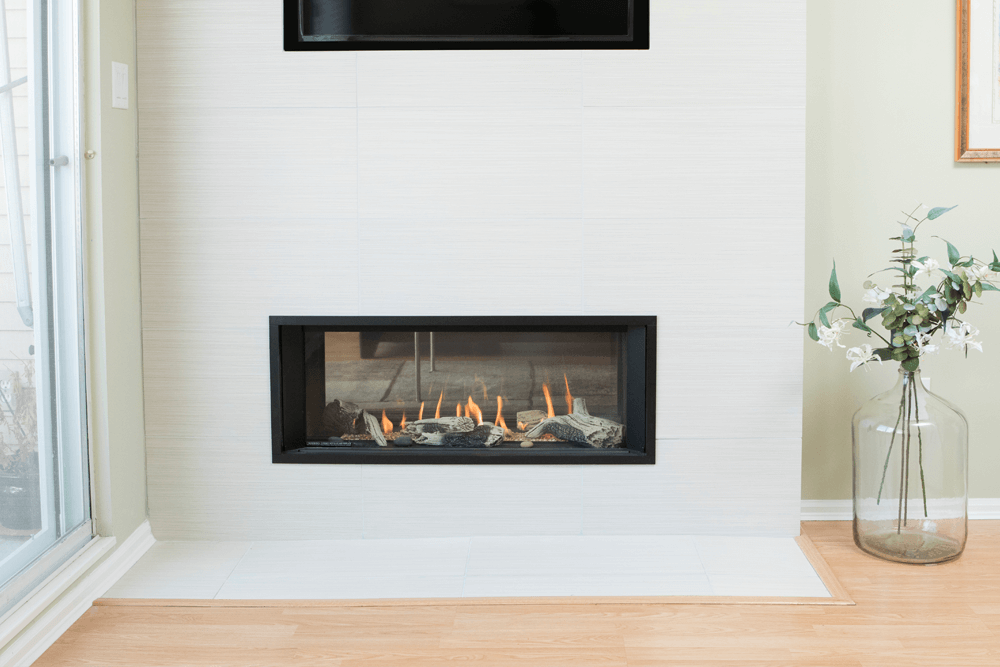 Valor L1 2 Sided Linear Series Gas Fireplace Valor Fireplaces