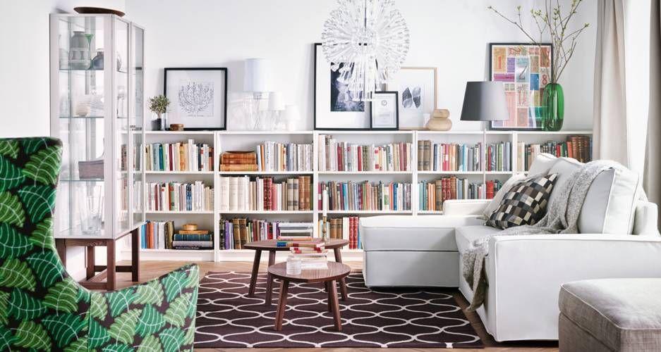 ikea 2015 salon pinterest salon biblioth que salon et maison. Black Bedroom Furniture Sets. Home Design Ideas