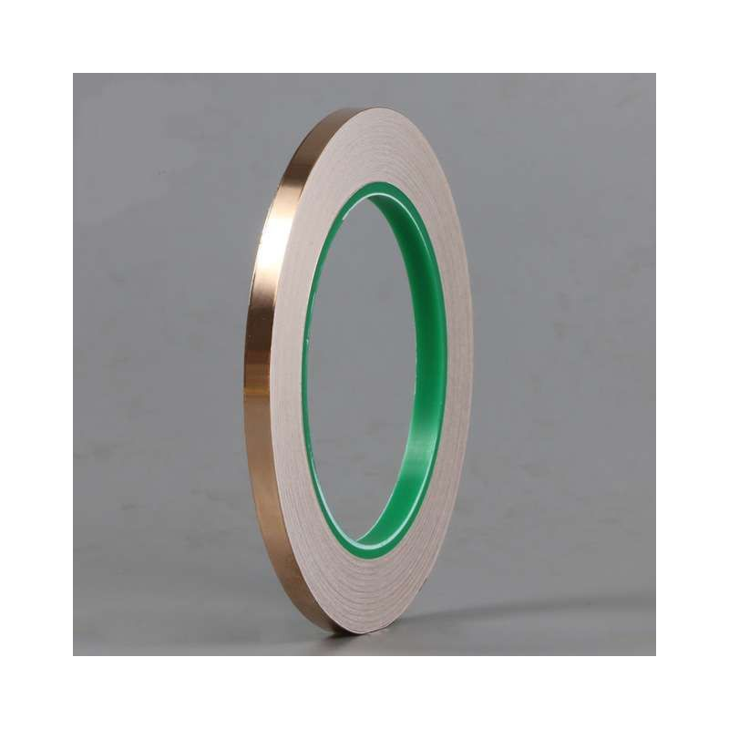25m Diy Double Sided Conductive Pure Copper Foil Tape Adhesive Shielding Tape Antenna Signal Enhancement 2020