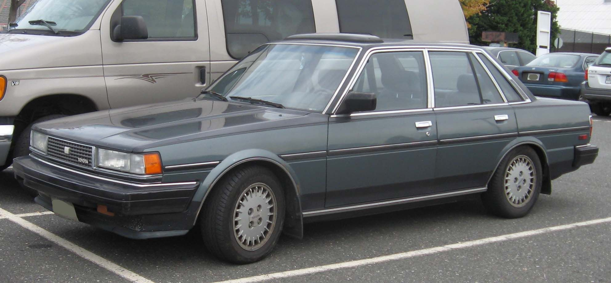 Side View Toyota Cressida Website About Cars トヨタ