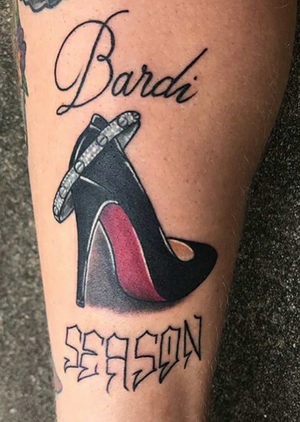 Cardi B Tattoos Arm: Pin By Enticing On Cardi B Offset And Hennessy