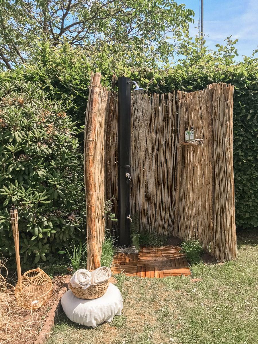 Gartendusche Selber Bauen Diy Outdoor Dusche Gartendusche Selber Bauen Solardusche Garten Gartendusche