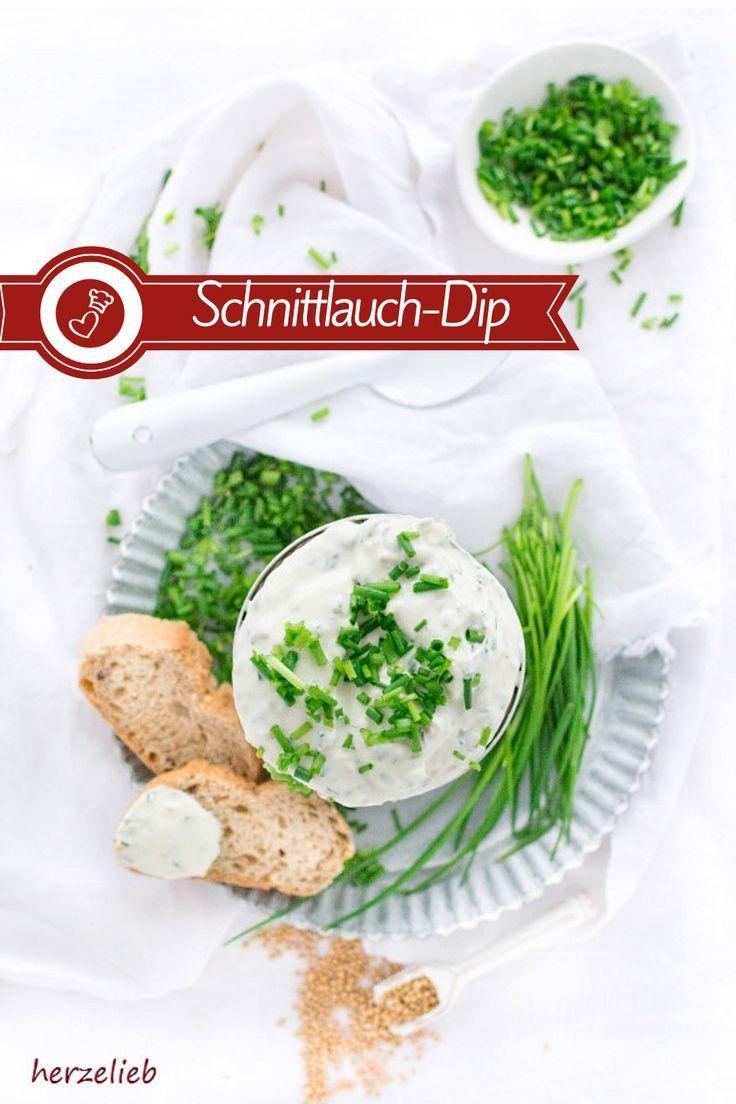 Schnittlauch Dip mit Senf – Dip Rezept mit Pfiff