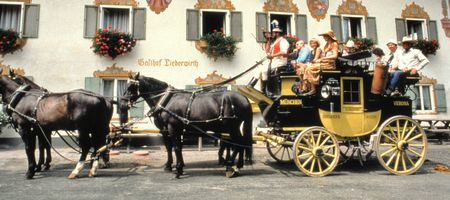 A carriage ride! Don't pretend you never wanted to...