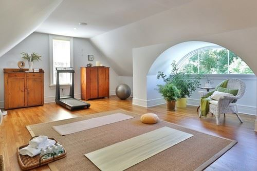 107 Yoga Room Ideas For A Peaceful Experience In 2020 Home Yoga Room Yoga Room Design Meditation Room Design