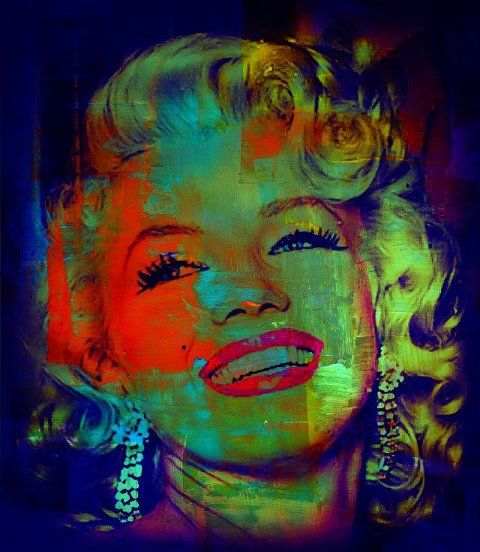 Marilyn Monroe My Edit (colorful )