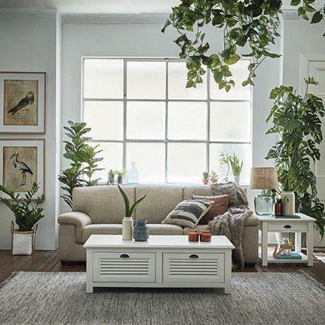 Freedom Furniture Grand Lodge 3 Seat Sofa In Colt Pebble