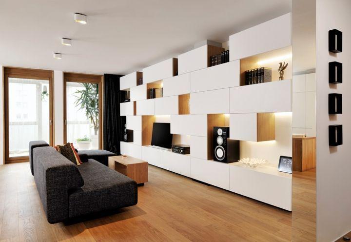 Estantes E Paineis Mobilier De Salon Decoration Interieure Meuble Rangement Salon