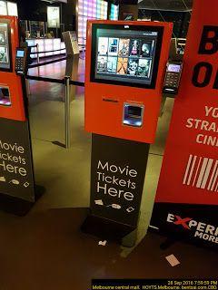 Movie Ticketing Self Service booth Entertainment Movies Self-Service